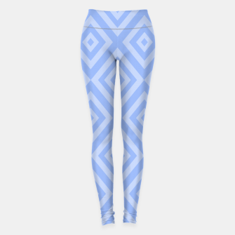 Thumbnail image of Abstract geometric pattern - blue. Leggings, Live Heroes