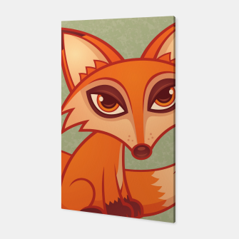 Miniatur Red Fox Canvas, Live Heroes