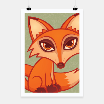 Miniatur Red Fox Poster, Live Heroes