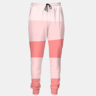 Thumbnail image of Abstract pattern - pink. Cotton sweatpants, Live Heroes