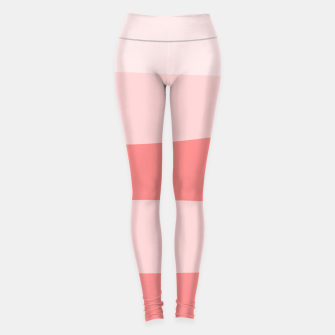 Thumbnail image of Abstract pattern - pink. Leggings, Live Heroes