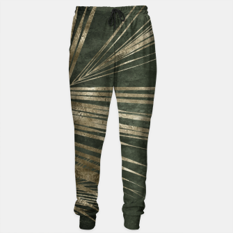 Thumbnail image of golden palms Cotton sweatpants, Live Heroes