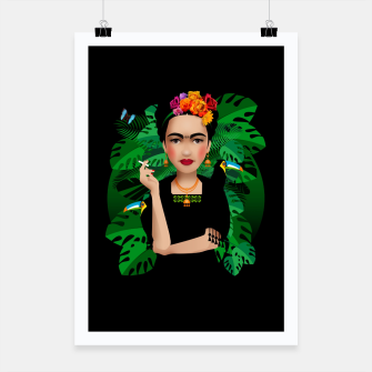 Thumbnail image of Frida Kahlo – Poster, Live Heroes