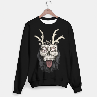 Miniature de image de Psychedelic mushrooms growing on the skull Bluza standard, Live Heroes