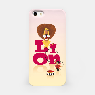 Thumbnail image of Circus Lion – iPhone Case, Live Heroes