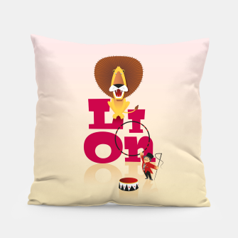 Thumbnail image of Circus Lion – Pillow, Live Heroes