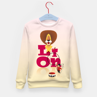 Thumbnail image of Circus Lion – Kid's sweater, Live Heroes