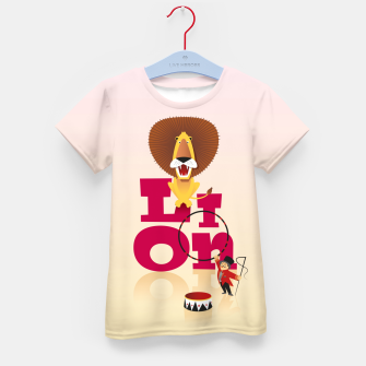 Thumbnail image of Circus Lion – Kid's t-shirt, Live Heroes
