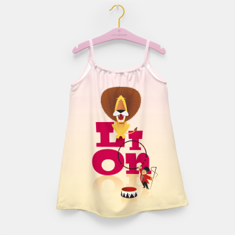 Thumbnail image of Circus Lion – Girl's dress, Live Heroes