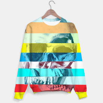 Miniature de image de Glitch Skull Cotton sweater, Live Heroes