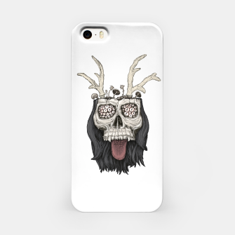 Miniature de image de Psychedelic mushrooms growing on the skull Obudowa iPhone, Live Heroes