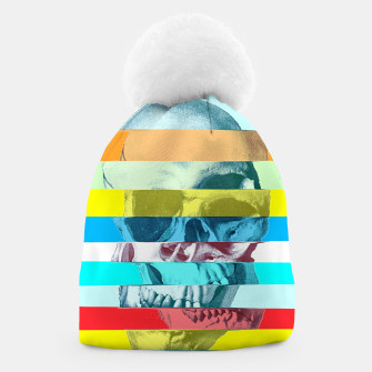 Thumbnail image of Glitch Skull Beanie, Live Heroes