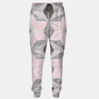 Thumbnail image of Marble star golden rose Cotton sweatpants, Live Heroes