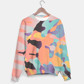 Miniatur Planetary Fragmentation Cotton sweater, Live Heroes