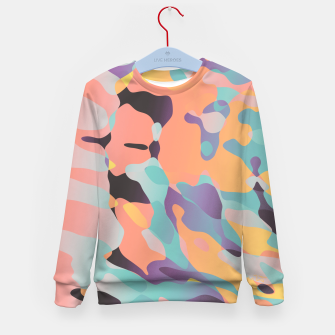 Miniatur Planetary Fragmentation Kid's sweater, Live Heroes