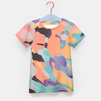 Thumbnail image of Planetary Fragmentation Kid's t-shirt, Live Heroes