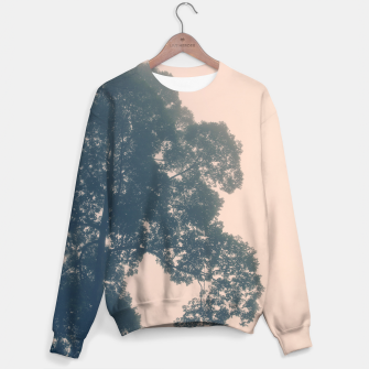Thumbnail image of Borneo sunrise in dreamy pastels Cotton sweater, Live Heroes