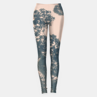 Thumbnail image of Borneo sunrise in dreamy pastels Leggings, Live Heroes