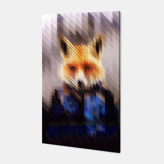 Thumbnail image of Cool Fox Canvas, Live Heroes