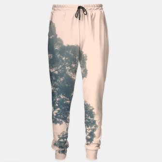 Thumbnail image of Borneo sunrise in dreamy pastels Cotton sweatpants, Live Heroes