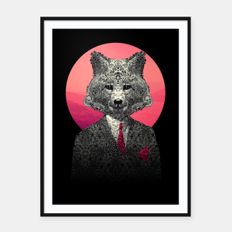 Miniatur Fox Framed poster, Live Heroes