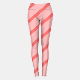 Thumbnail image of Abstract geometric pattern - pink. Leggings, Live Heroes
