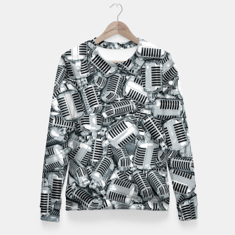 Thumbnail image of Lounge Act II Woman cotton sweater, Live Heroes