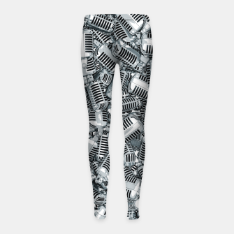 Thumbnail image of Lounge Act II Girl's leggings, Live Heroes