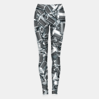 Thumbnail image of Lounge Act II Leggings, Live Heroes