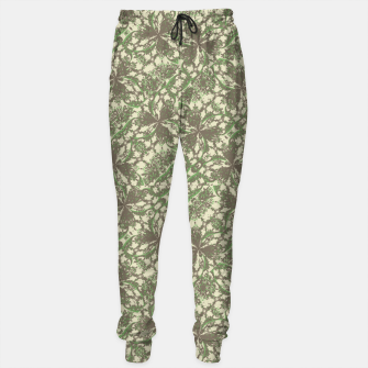 Thumbnail image of Vintage Baroque Pattern Cotton sweatpants, Live Heroes