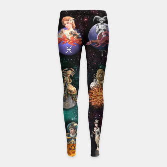 Thumbnail image of ZODIAC SIGNS Leggings para niña, Live Heroes