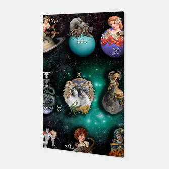 ZODIAC SIGNS Canvas obraz miniatury