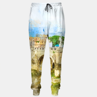 Thumbnail image of Painted Bridge Cotton sweatpants, Live Heroes