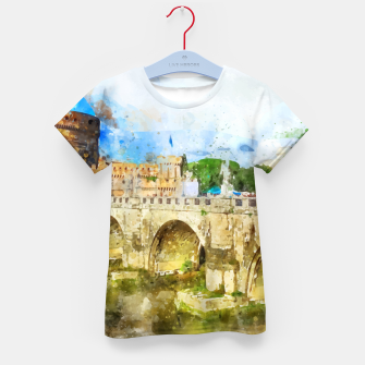 Thumbnail image of Painted Bridge Kid's t-shirt, Live Heroes