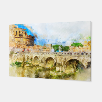 Thumbnail image of Painted Bridge Canvas, Live Heroes