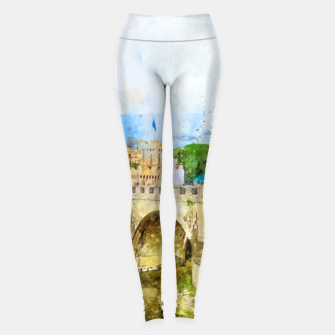 Thumbnail image of Painted Bridge Leggings, Live Heroes