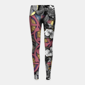 Imagen en miniatura de THE VINTAGE ORACLE Leggings para niña, Live Heroes