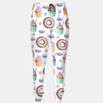 Miniatur Donut Icecream Cotton sweatpants, Live Heroes