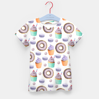 Miniaturka Donut Icecream Kid's t-shirt, Live Heroes