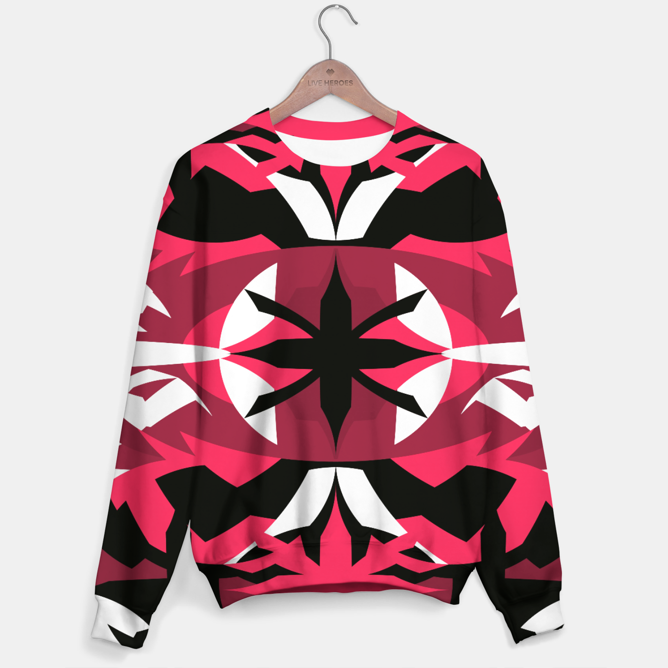 Image of LivePink Cotton sweater - Live Heroes