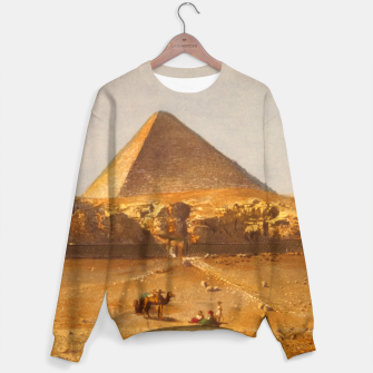 Lerebours, Noël Paymal (1807-1873) - Pyramid of Cheops 1842 Cotton sweater obraz miniatury