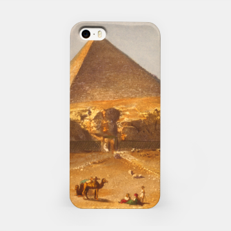 Lerebours, Noël Paymal (1807-1873) - Pyramid of Cheops 1842 iPhone Case obraz miniatury