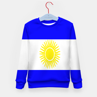 Miniaturka Flag of Argentina Kid's sweater, Live Heroes