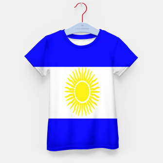 Thumbnail image of Flag of Argentina Kid's t-shirt, Live Heroes