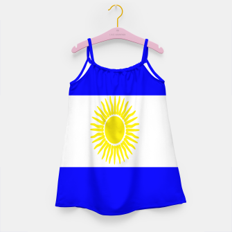 Thumbnail image of Flag of Argentina Girl's dress, Live Heroes