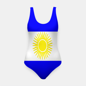 Thumbnail image of Flag of Argentina Swimsuit, Live Heroes