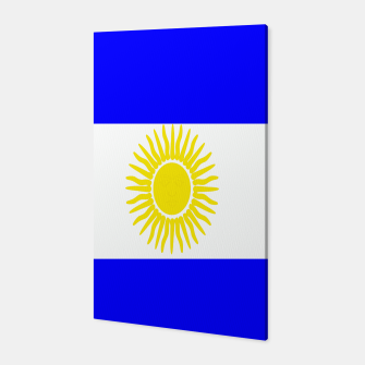 Thumbnail image of Flag of Argentina Canvas, Live Heroes