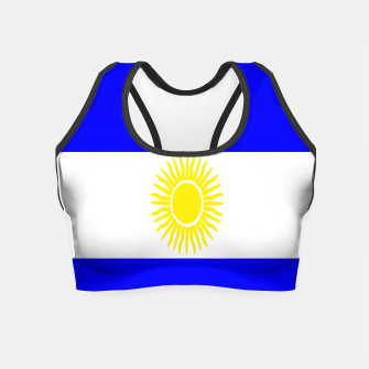 Thumbnail image of Flag of Argentina Crop Top, Live Heroes