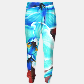 Thumbnail image of Blue orchid Cotton sweatpants, Live Heroes
