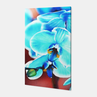 Thumbnail image of Blue orchid Canvas, Live Heroes